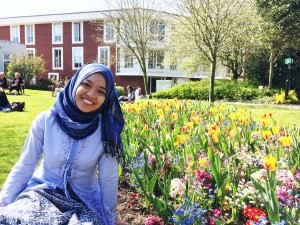 At home in my lovely Warwick campus